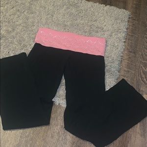 Victoria's Secret PINK yoga pants.